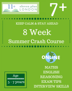 8 Week 7+ Summer Crash Course (ONLINE)