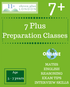 7+ Preparation Classes