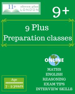 9+ Preparation Classes