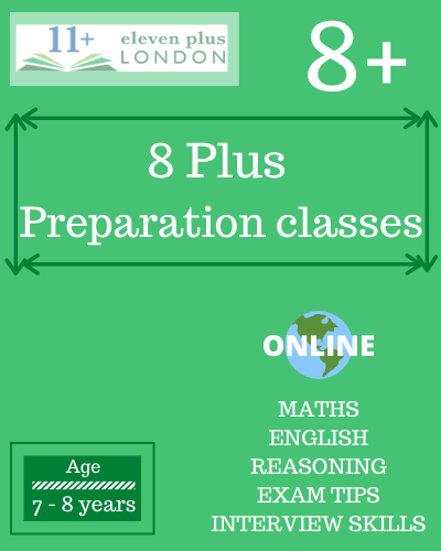 8+ preparation classes