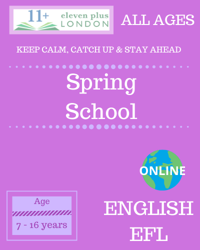 Spring School English EFL