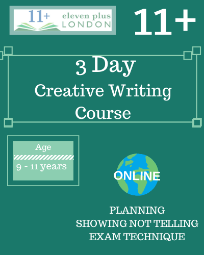 3 Day Creative Writing Course