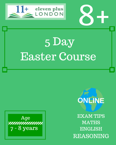 5 Day 8+ Easter Course