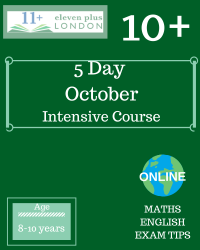 5 Day October Intensive Course