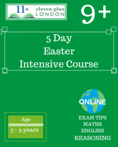 5 Day Intensive 9+ Easter Course (ONLINE)